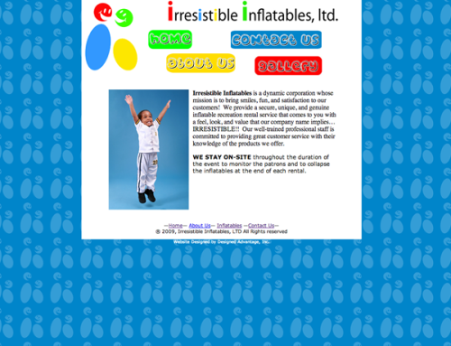 Irresistible Inflatables